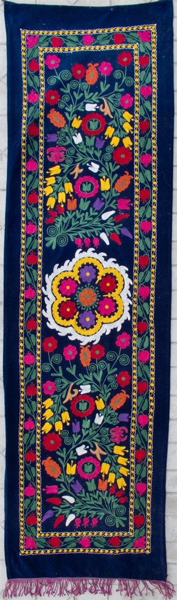 Uzbek Machine Embroidery Suzani Zardevor From by SULTANSHOP,