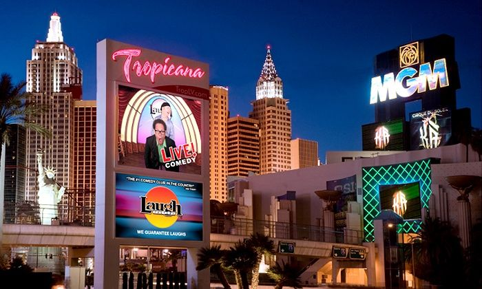 Laugh Factory - Laugh Factory: Standup Comedy Show for Two with Option for VIP Seating at Laugh Factory (Up to 52% Off)