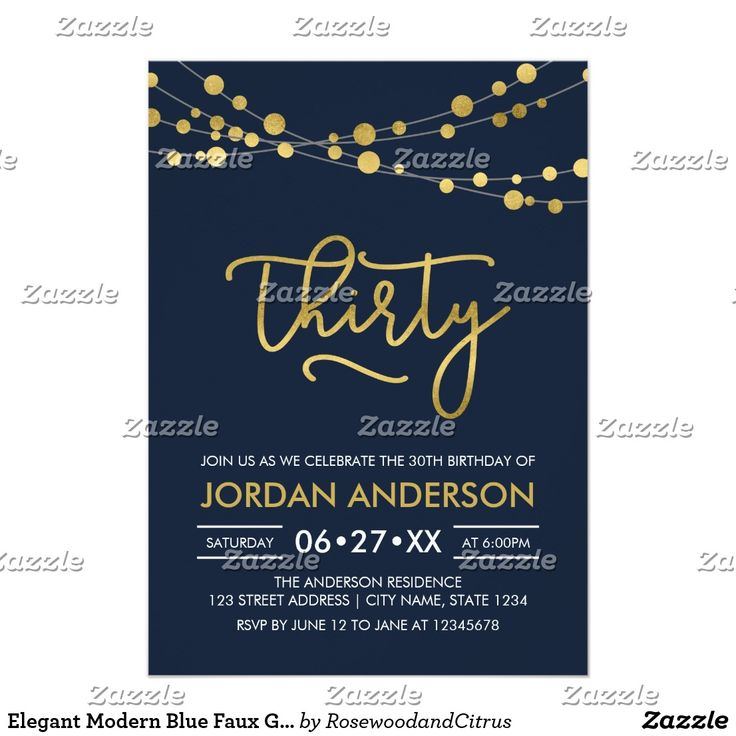 836 best Adult Birthday Invitations by age images – Zazzle 30th Birthday Invitations