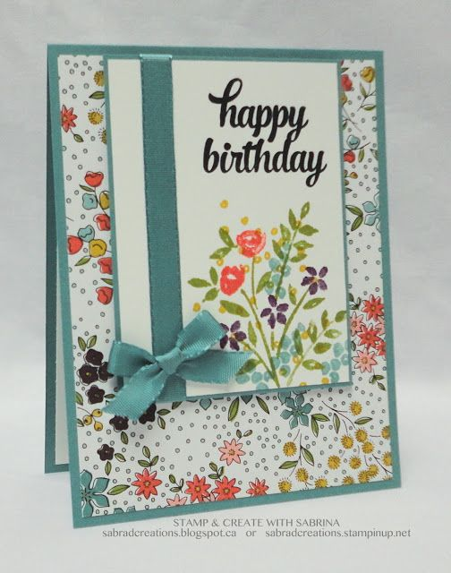 Stamp & Create With Sabrina: VanIsle Stampin' Up! Meet & Share - Card Exchange