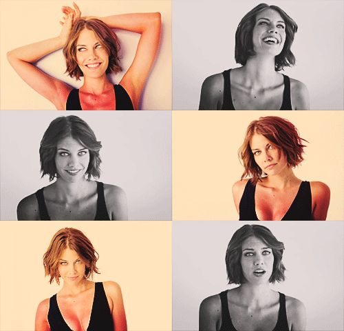 I present Lauren Cohan to improve your day
