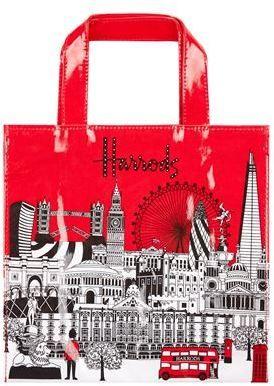 Harrods Small Bold London Shopper Bag