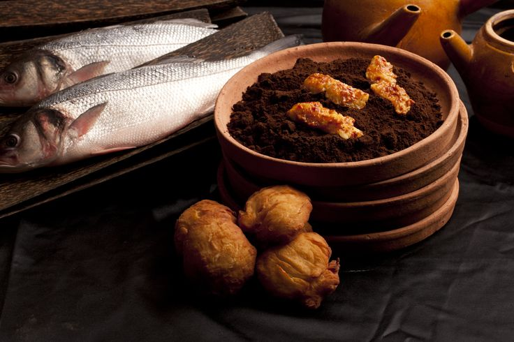 Chef Shahaf recommends Phnom Penh Fish. Sweet river fish, ajam pedis, cauliflower served with coconut yogurt..