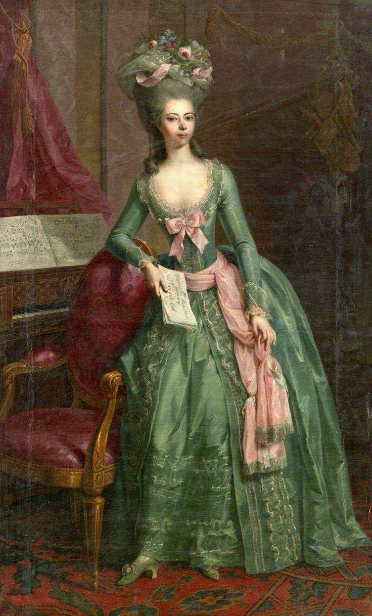 Johann Heinrich Tischbein the Elder, Portrait of Juliane, Princess of Schaumburg-Lippe, c.1781