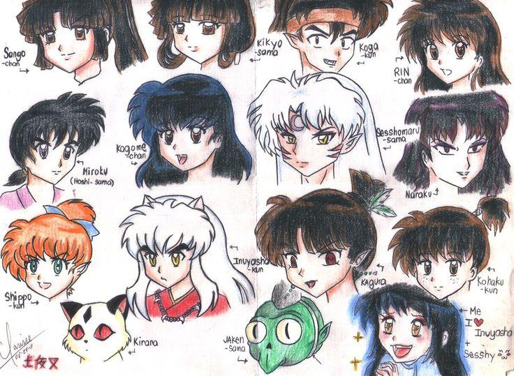 Inuyasha Characters Bing Images INUYASHA Pinterest