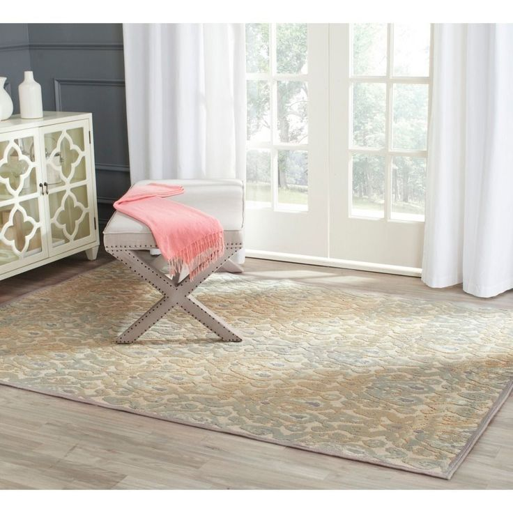 with traditional european and floral designs this rug is powerloomed with the finest viscose pile to