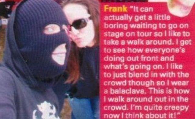 Frank Iero creeper quote.