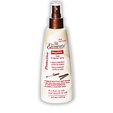 Protect your hair! Silk Elements MegaSilk Heat Protection Spray