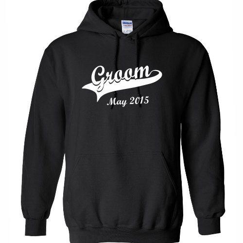 groom hoodie wedding hoodie sweatshirt gift ideas for groom fianc boyfriend mens him personalized 100 cotton oversized red black white - Sweatshirt Design Ideas