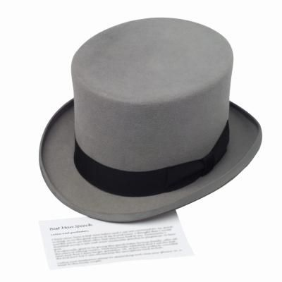 How to Make a Formal Top Hat Out of Felt. Hoping this will work for my brother's Regency costume!