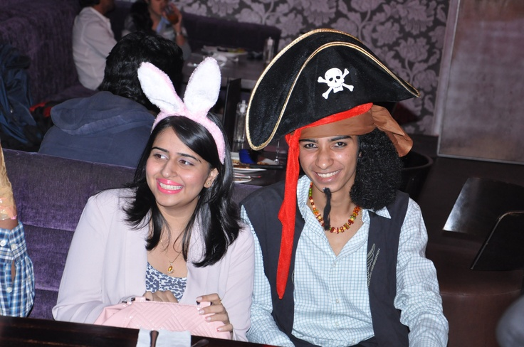 Dressed to impress in their Halloween wear   [Hard Rock Café Hyderabad]