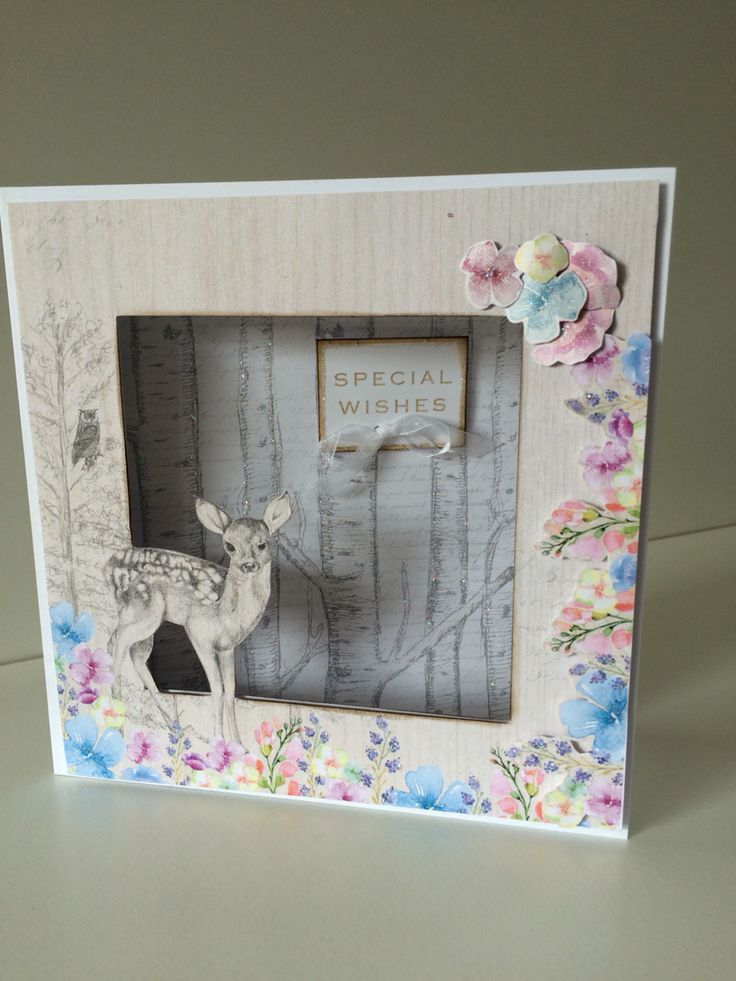 Made by Clare Curd with Enchanted Woodland collection