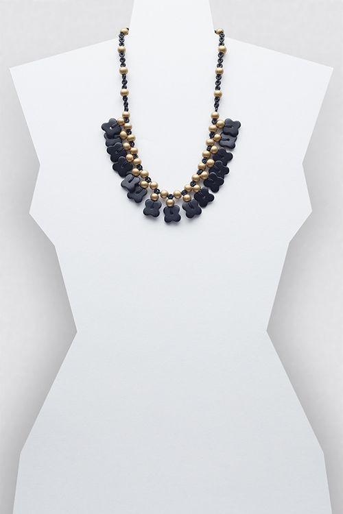 Sandra Necklace #necklace #jewellery #jewelry #fashionaccessories #accessories #beadednecklace #ceramicbeads #ethnicstyle #bohostyle