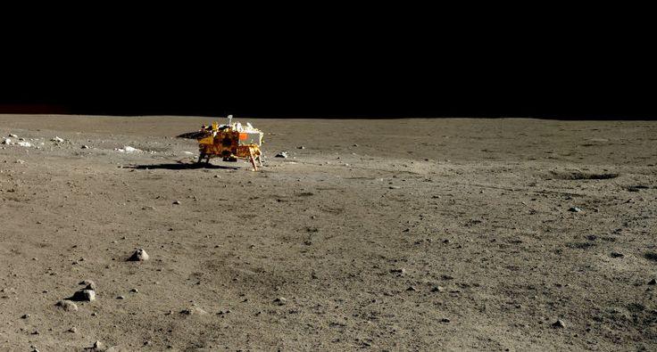 La Agencia Espacial China publica nuevas y espectaculares fotos a color de la Luna