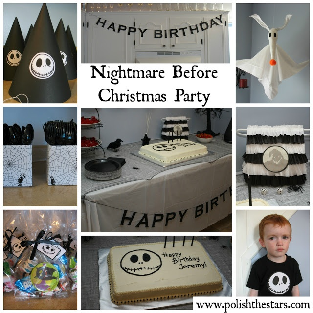 Nightmare Before Christmas Birthday Party: 100 Best Ideas For Eva's 9th Birthday! Images On Pinterest