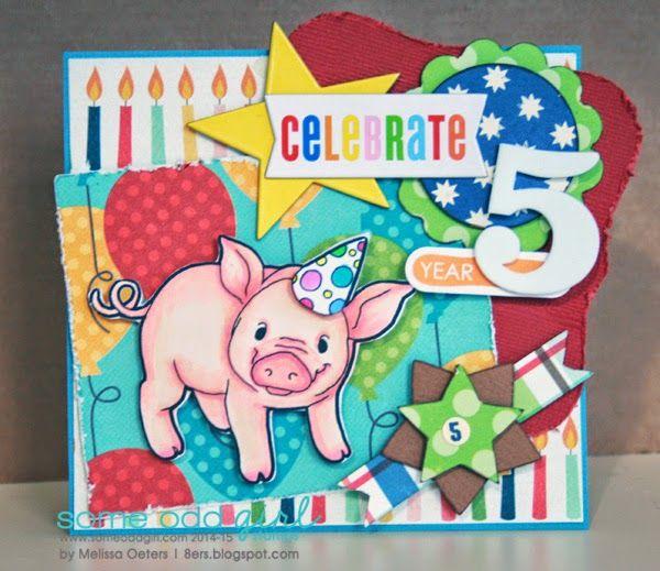 MelissaO - Needful Things: Digi Party PIG!!
