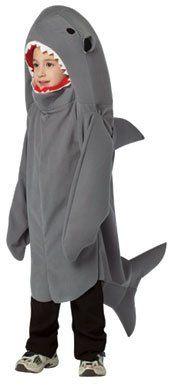 Baby Shark Costume: Toddler Shark Animal Aquatic Halloween Costume