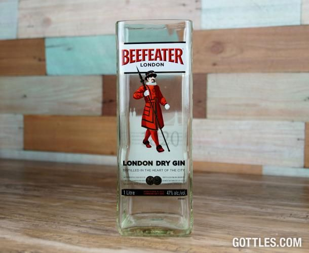 Beefeater Gin Vase