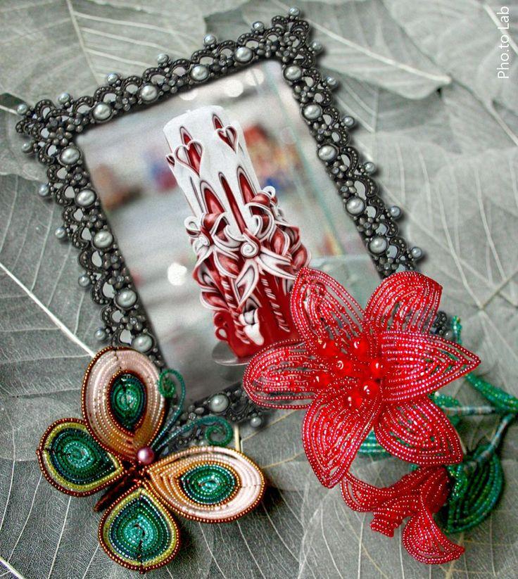 В день Св. Валентина принято дарить романтические подарки. Все в этот день должно иметь форму сердца, даже свечки.