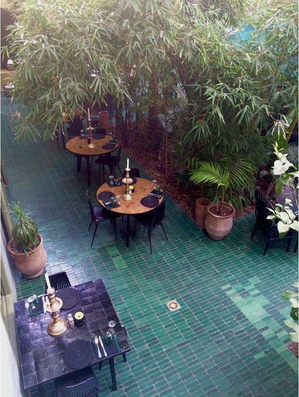 Le jardin, restaurant de Marrakech – Miluccia                              …