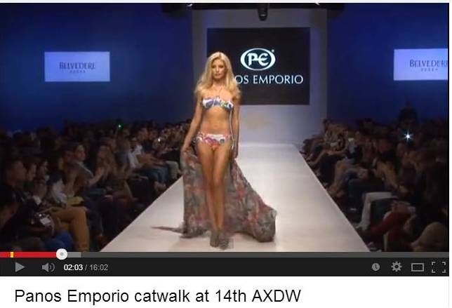 Spring-Summer 2014 collection of Panos Emporio on the runway of 14th AXDW! Visit youtube/axdweek to watch the video! #axdw #collection #fashionweek #athens #designers #greece
