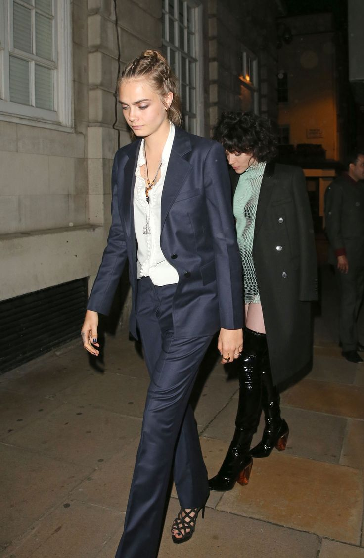 Cara Delevingne and St. Vincent are the most stylish couple: http://thecut.io/1XL6puO