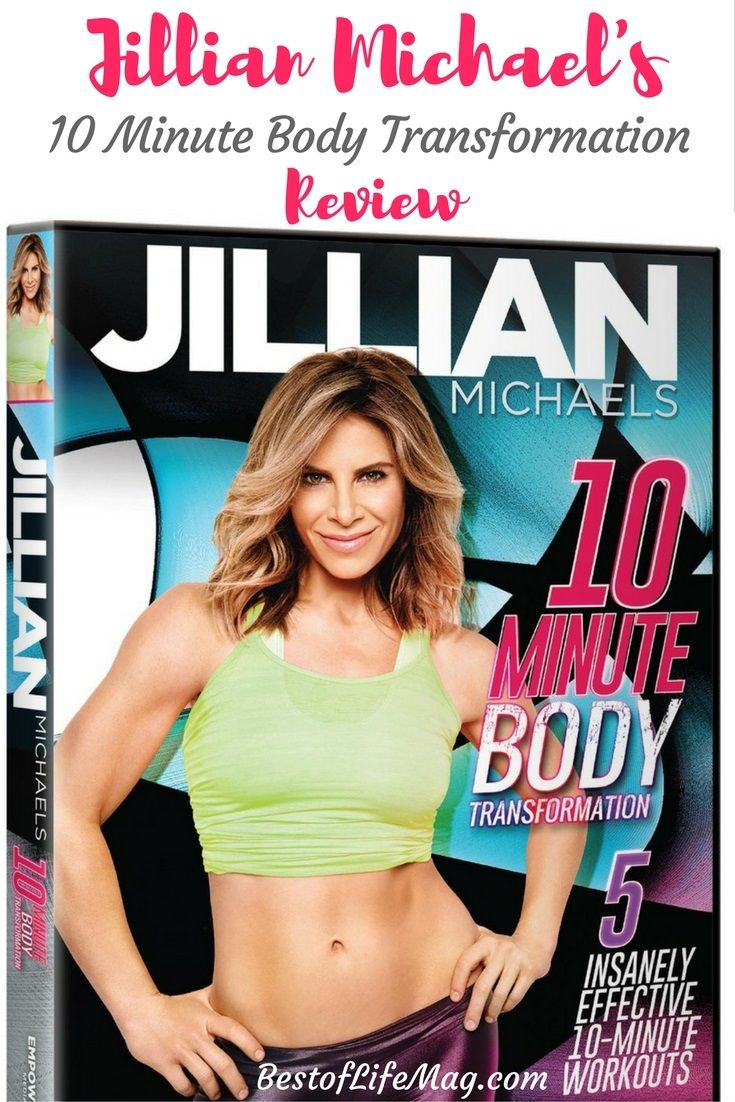 Our Jillian Michaels 10 Minute Body Transformation Review will guide you through each of the five workouts within the program to maximize results.