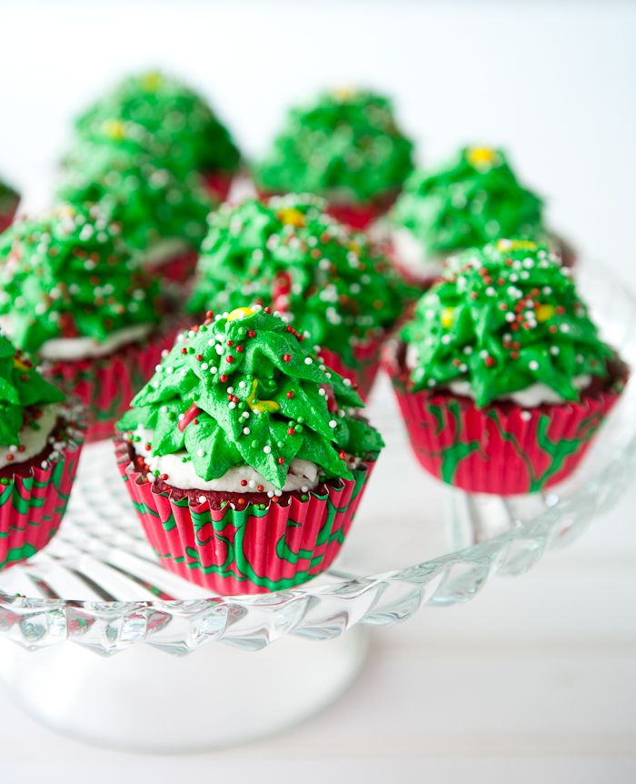 Christmas Tree Muffins: 161 Best Christmas Cupcakes Images On Pinterest
