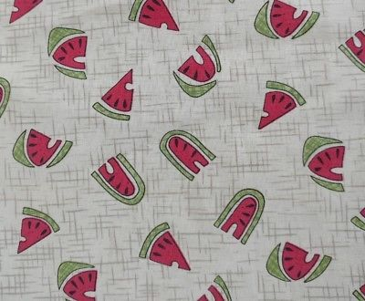 Retro Fabric Pattern of Watermelons Quick as a Wink Rebecca Carter
