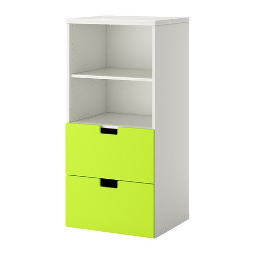 STUVA Storage combination IKEA Make your storage combination more personal by combining several doors and drawer fronts in different colors.