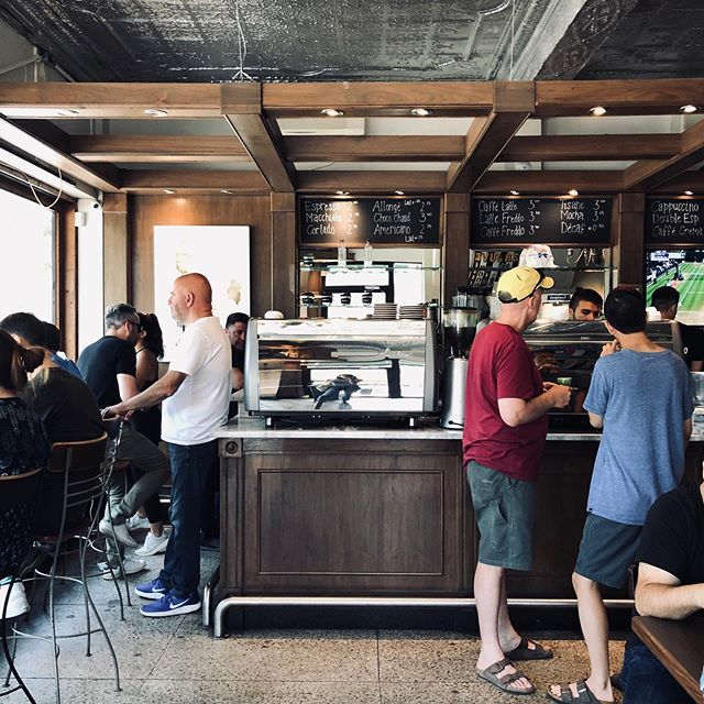 Waiting For My Coffee At Cafeolimpico Where Theyre Supposed To Have The Best Coffee In Town Especially Their Cafe Fredo Cafe Visit Montreal Cafe O Food Blog