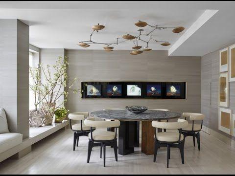 die besten 25+ salas y comedores modernos ideen auf pinterest, Esstisch ideennn