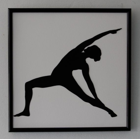 24 Best Images About Yoga Silhoettes On Pinterest