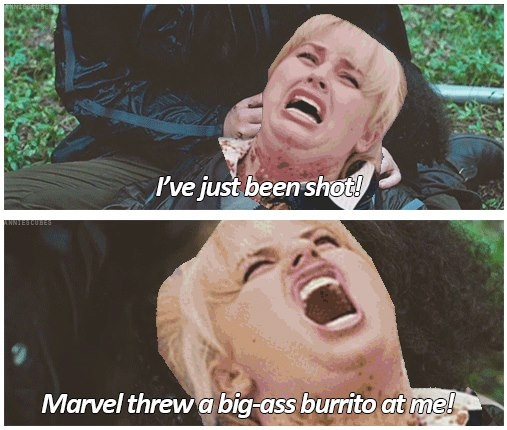 Pitch Perfect/The Hunger Games crossover...ahhh never noticed that!