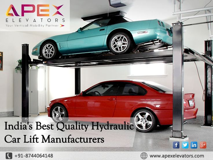 India's best quality #Hydraulic Car #Lift Manufacturers For more inquiry visit onhttp://apexelevators.com