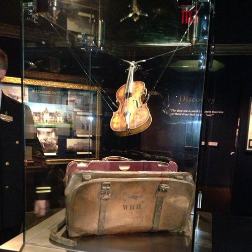 For the first and ONLY time in the U.S., you can see the long-lost Titanic Violin on display at the Titanic Museum Attraction. This iconic artifact belonged to Titanic band leader, Wallace Hartley.