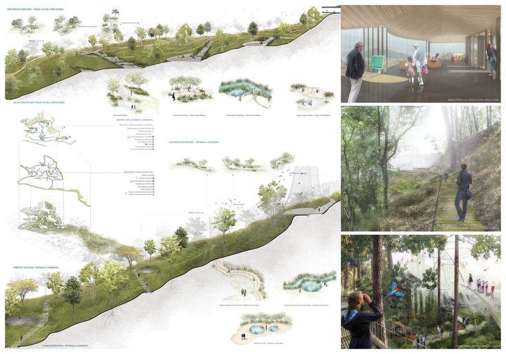 Galería - Célula Arquitectura, segundo y tercer lugar por plan maestro en cerros Nutibara y La Asomadera / Medellín - 20