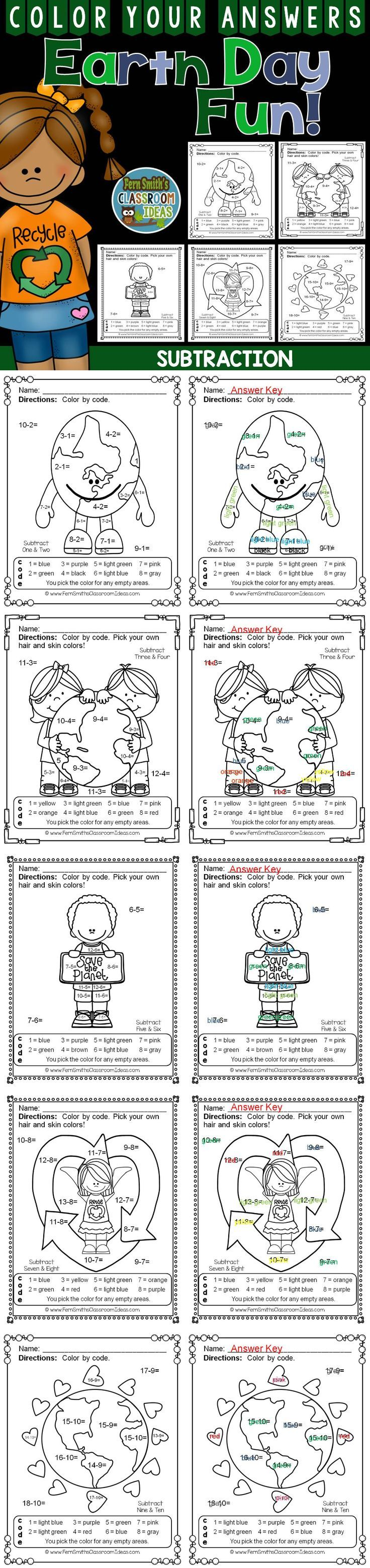 501 best subtraction activities for k 3rd grade images on