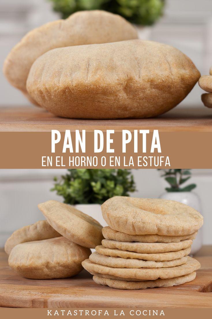 Receta de Pan de Pita o Pan Árabe con o sin horno. Durante el video les muestro dos procedimientos, Pan de pita en sarten y pan de pita en el horno con tips y recomendaciones.  #PanDePita #PanArabe #PitaPan #PanCasero #ComidaArabe #KatastrofaLaCocina Pan Arabe, Pan Bread, Empanadas, Sin Gluten, Beets, Great Recipes, Hamburger, Nom Nom, Tortillas