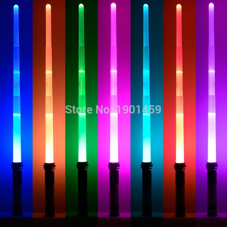 New 7 Colors Star Wars Lightsaber With Light & Sounds Laser