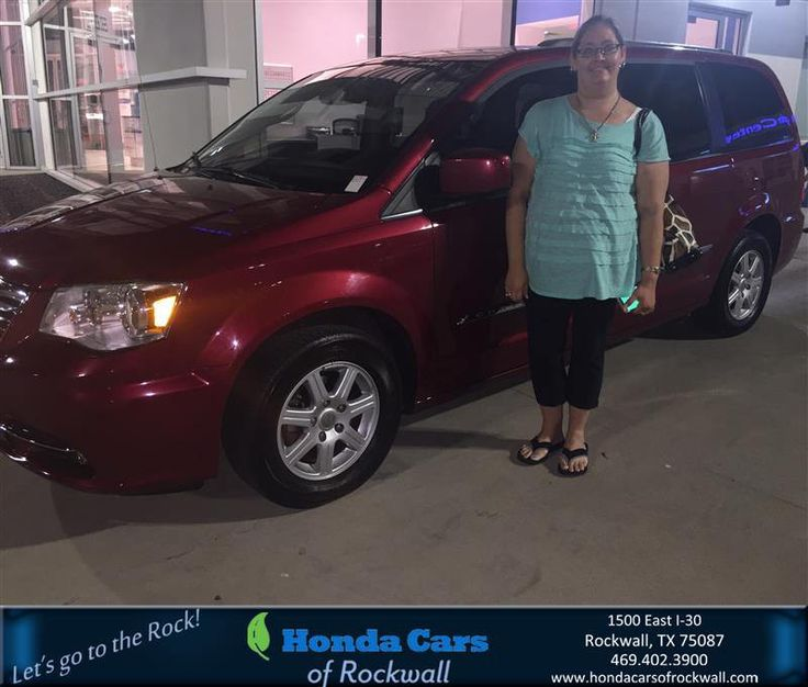 https://flic.kr/p/LAjZgL   Congratulations Crystal on your #Chrysler #Town & Country from Zoltan Bango at Honda Cars of Rockwall!   deliverymaxx.com/DealerReviews.aspx?DealerCode=VSDF