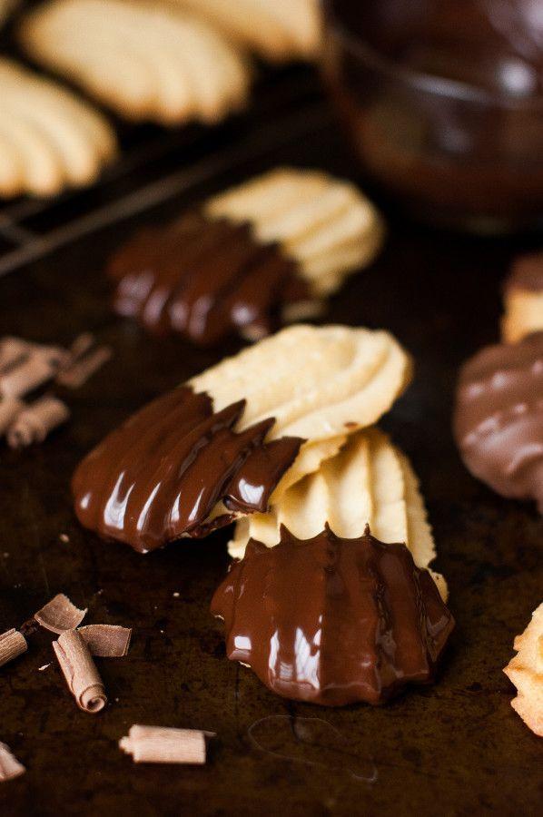 Csokoládé Mártott olasz Vajkeksz |  thekitchenmccabe.com