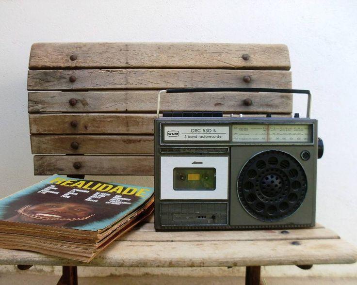 rádio antigo cce. - vintage e retrô cce