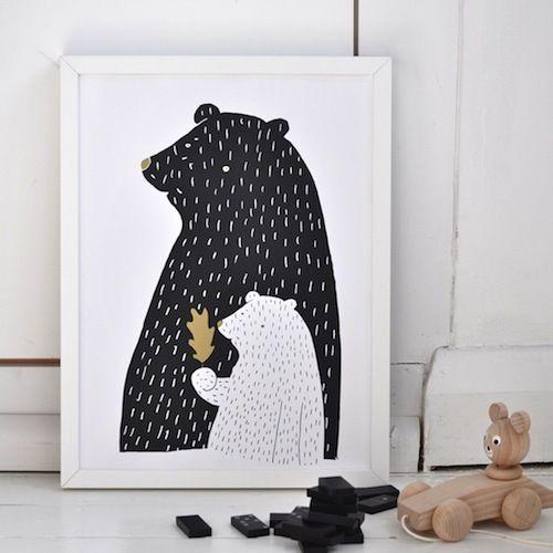 Op zoek naar mooie posters en prints voor de kinderkamer? http://sarahandbendrix.com/collections/products