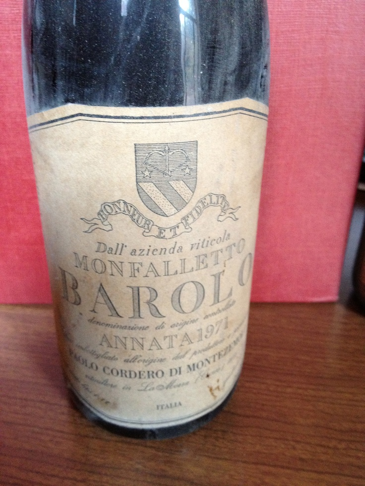 Barolo 1971  Farm: Monfalletto