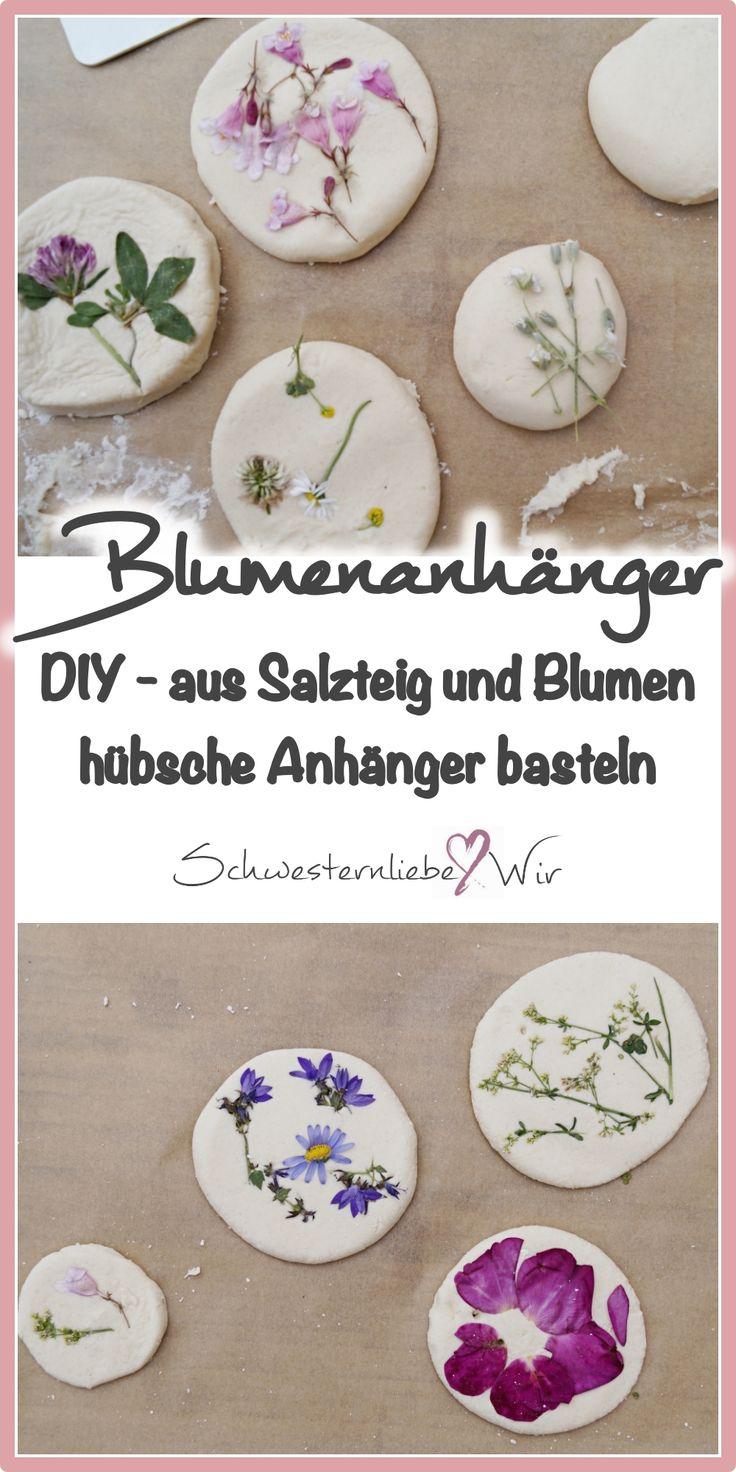 Blumenfreuden // Schönes aus Salzteig mit Kindern basteln
