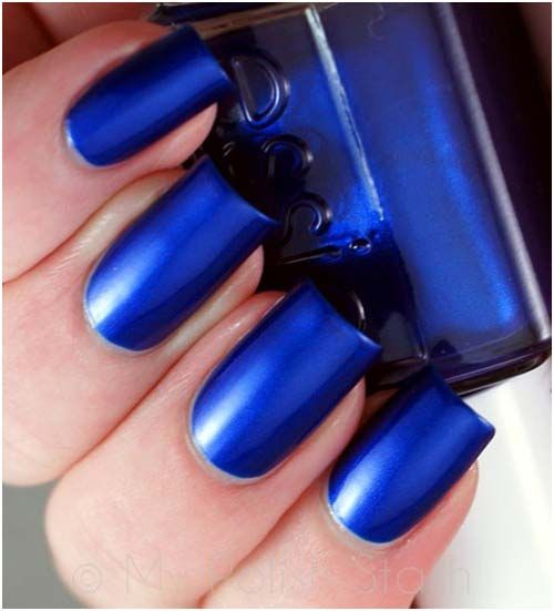Essie Aruba Blue Nail Polish. Because Everything is Sexier in Blue. Visit www.bartenura.com to learn more. BEAUTIFUL