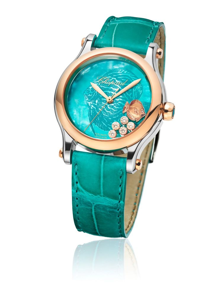 #Chopard Happy Fish turquoise
