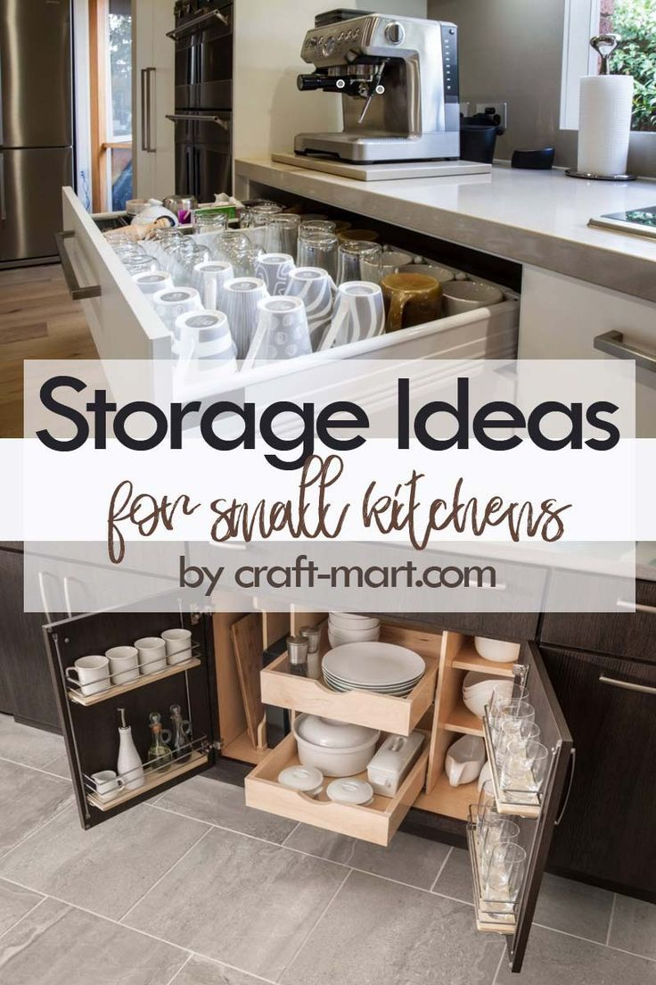 14 Clever Storage Ideas For Small Kitchens Small Kitchen Storage