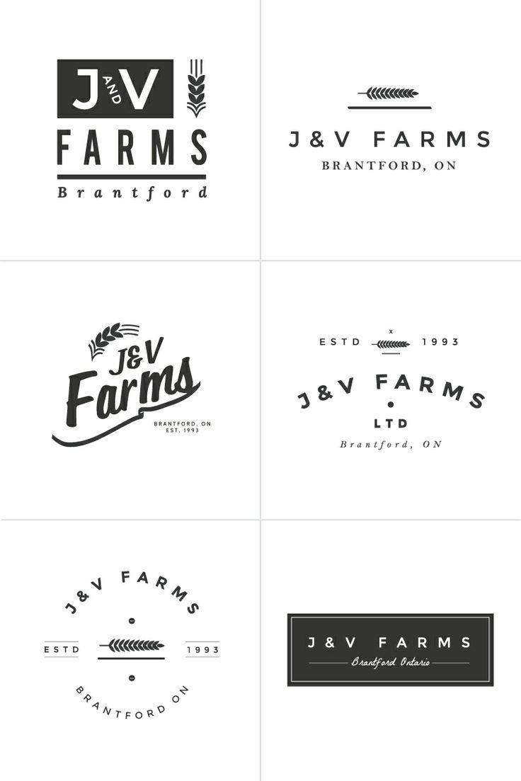Agri cultures project logo duckdog design - Logo Design Process Irene Victoria